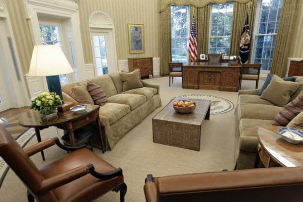 Oval Office Rug by Nazmiyal