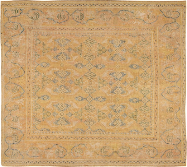 Spanish Cuenca Rug from the 17th century by nazmiyal