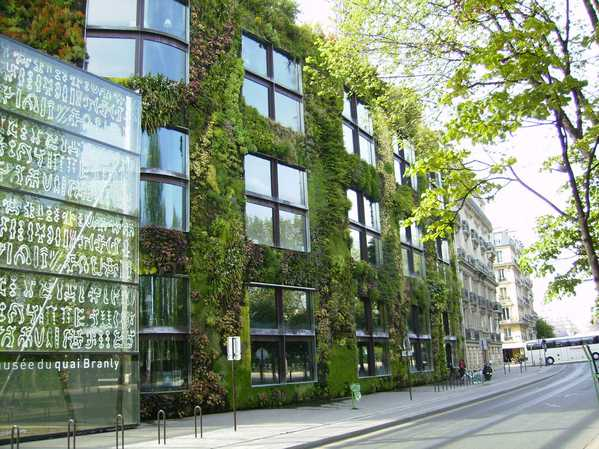 Solar Design at Musee du Quai Branly in Paris