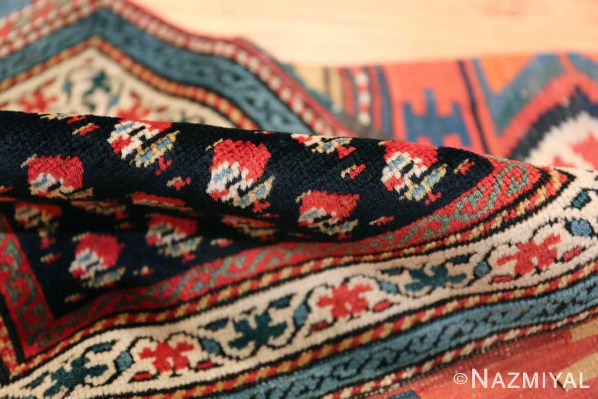 Antique Caucasian Shirvan Rug 44502 Floral Pile Nazmiyal