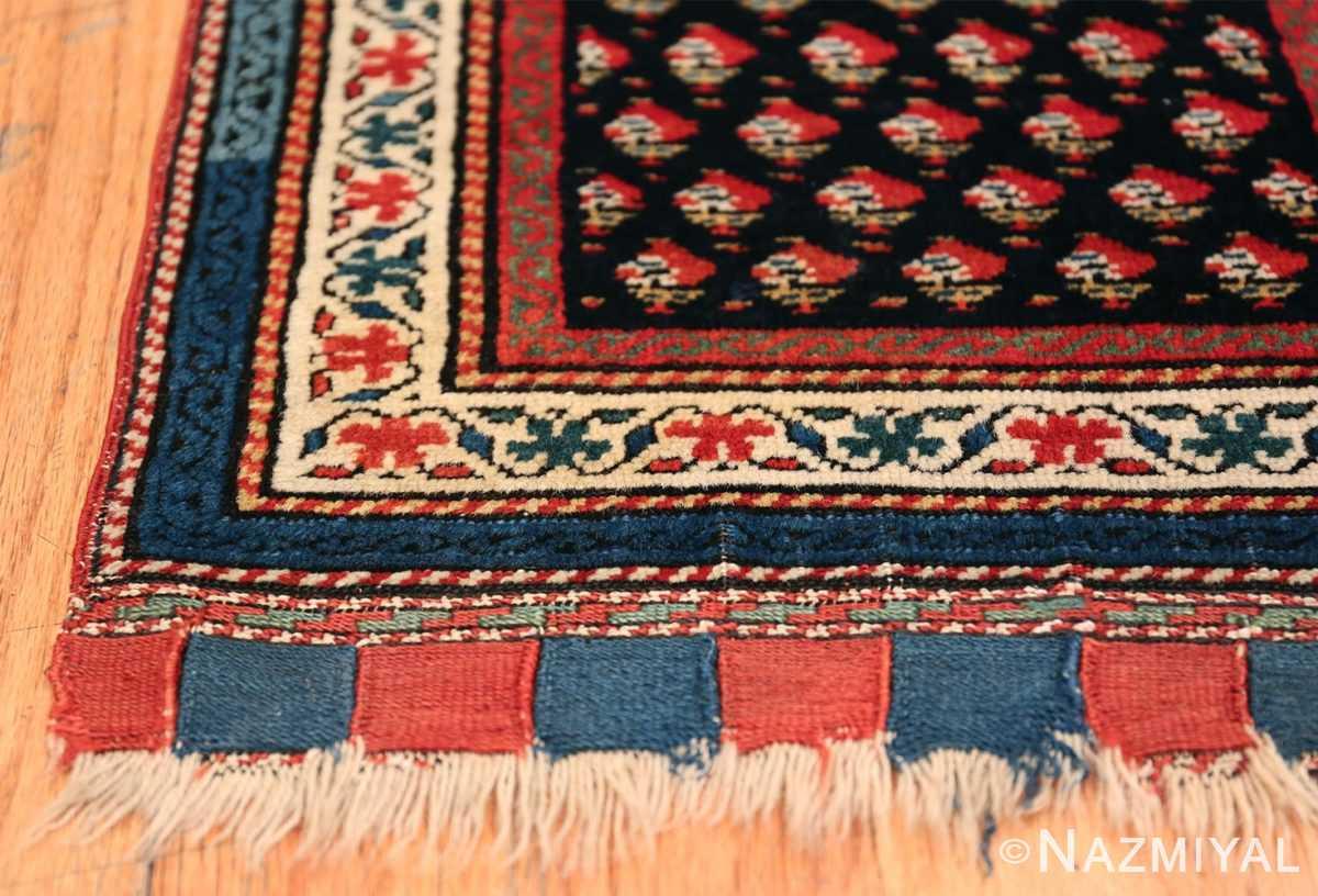 Antique Caucasian Shirvan Rug 44502 Side Corner Nazmiyal