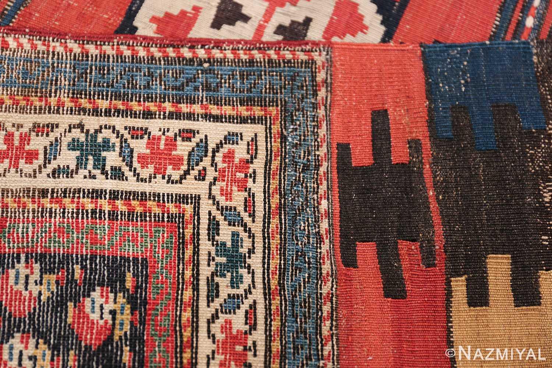 Antique Caucasian Shirvan Rug 44502 Woven Knots Nazmiyal