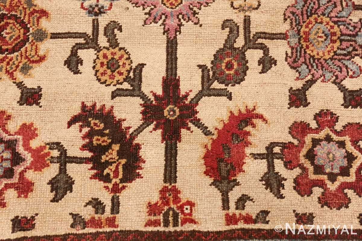 antique indian agra rug 44429 top Nazmiyal