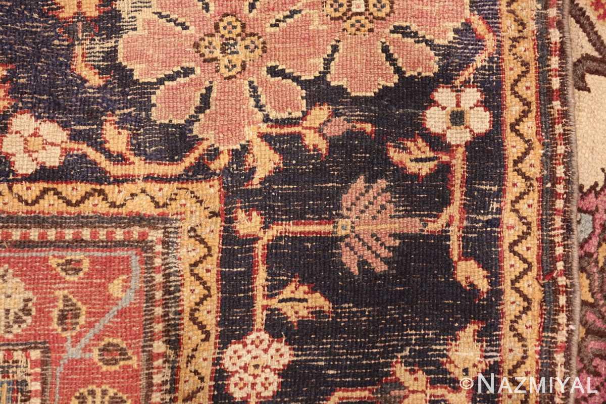 antique indian agra rug 44429 weave Nazmiyal