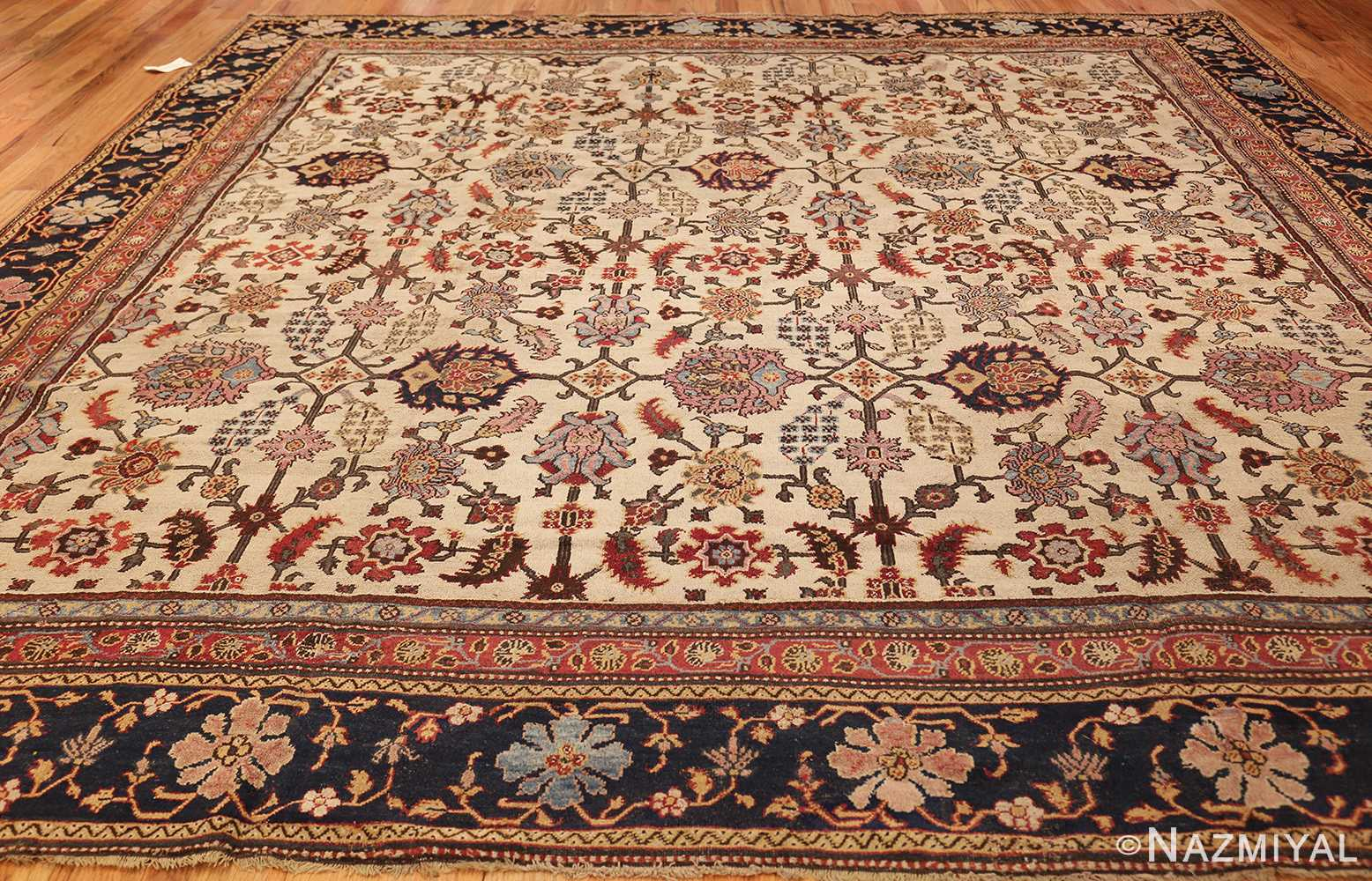 antique indian agra rug 44429 whole Nazmiyal