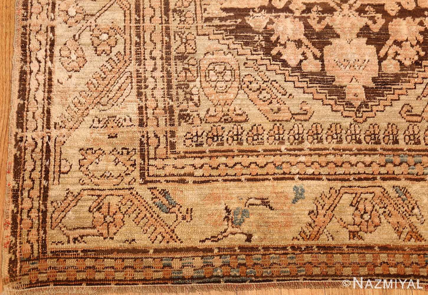 antique turkish kula rug 46250 corner Nazmiyal