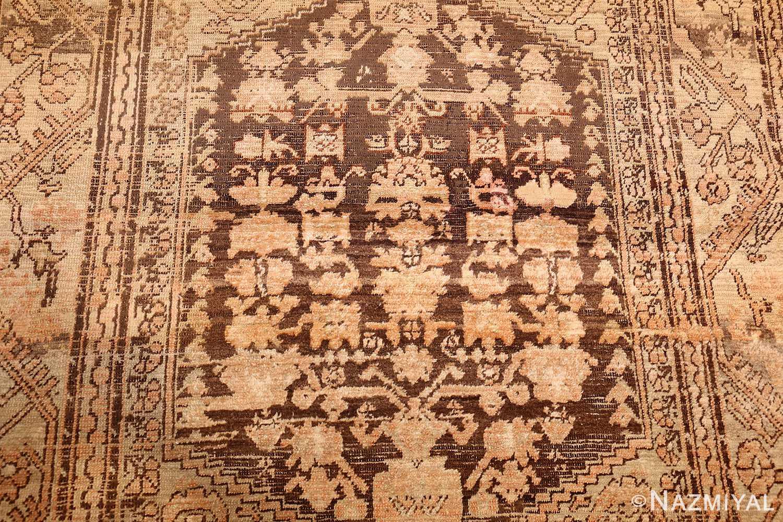 antique turkish kula rug 46250 middle Nazmiyal