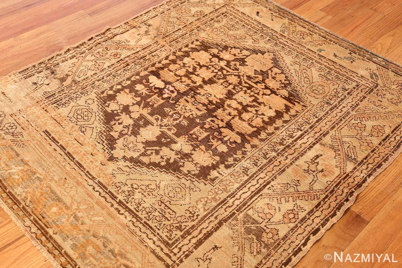 antique turkish kula rug 46250 side Nazmiyal