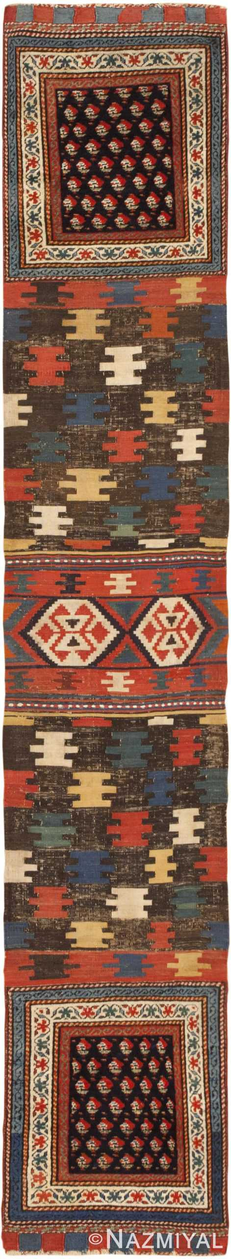 Antique Russian Shirvan Rug 44502 Detail/Large View