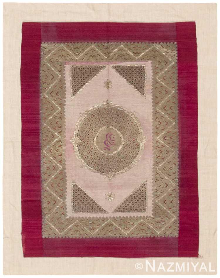 Antique Textile Rug 45090 Detail/Large View