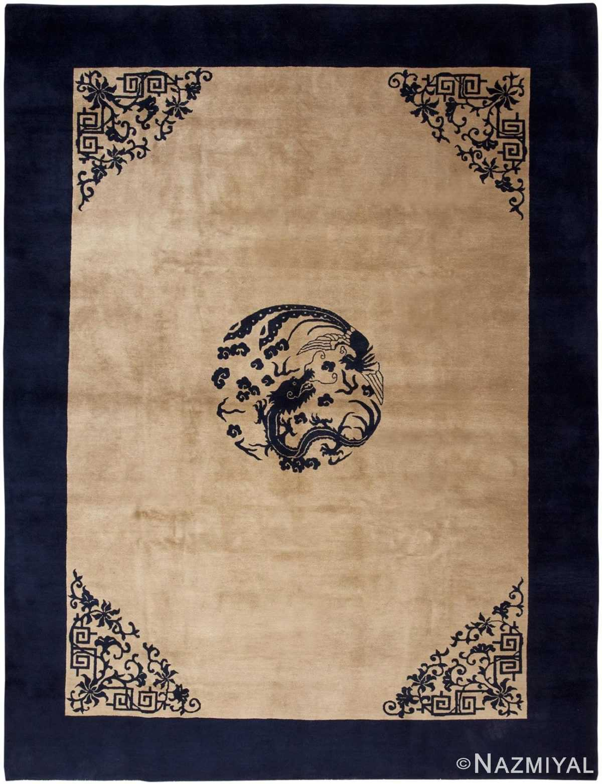 Antique Chinese Rug 46557 Detail/Large View