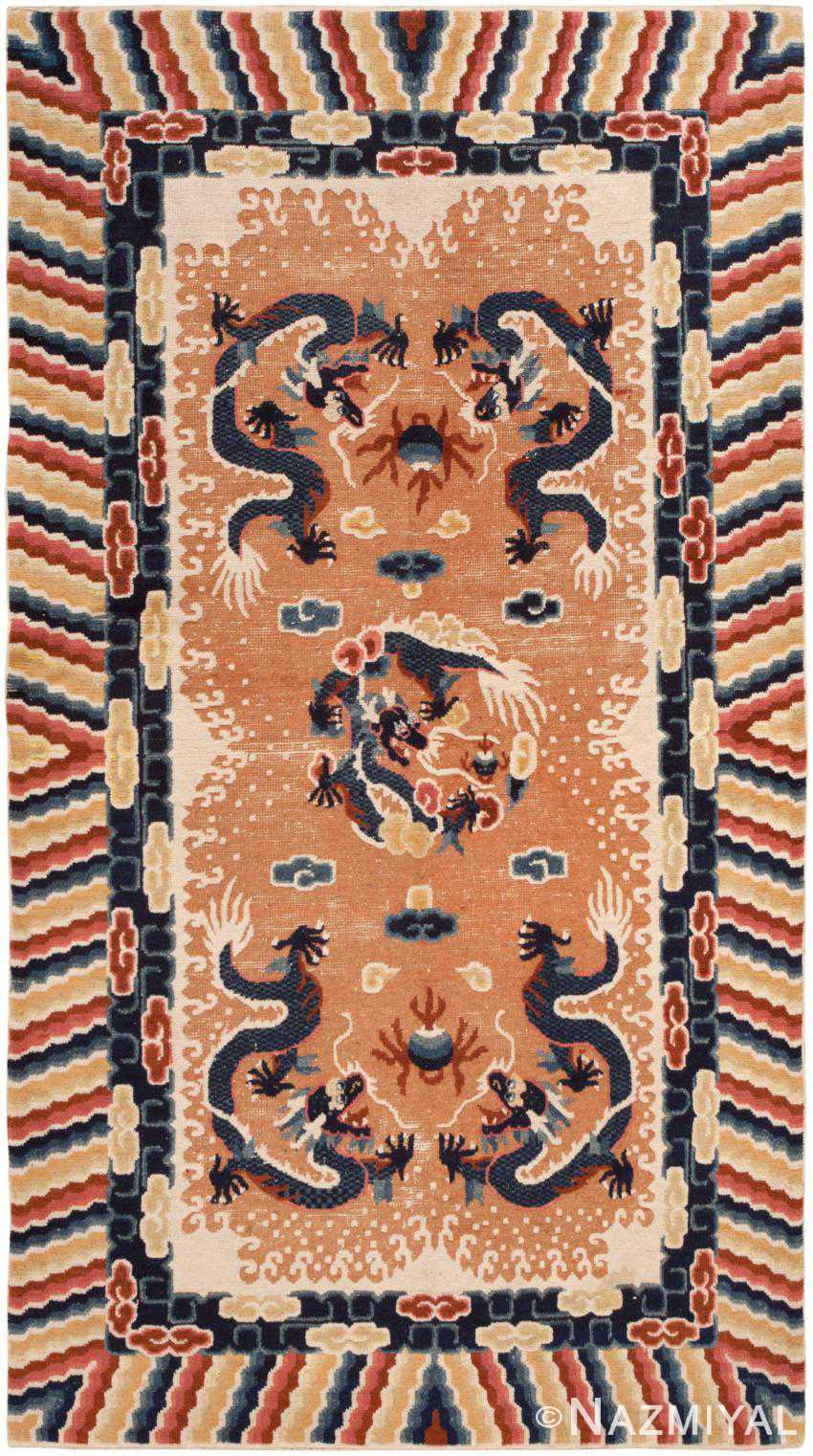 Antique Chinese Rug 46588 Detail/Large View