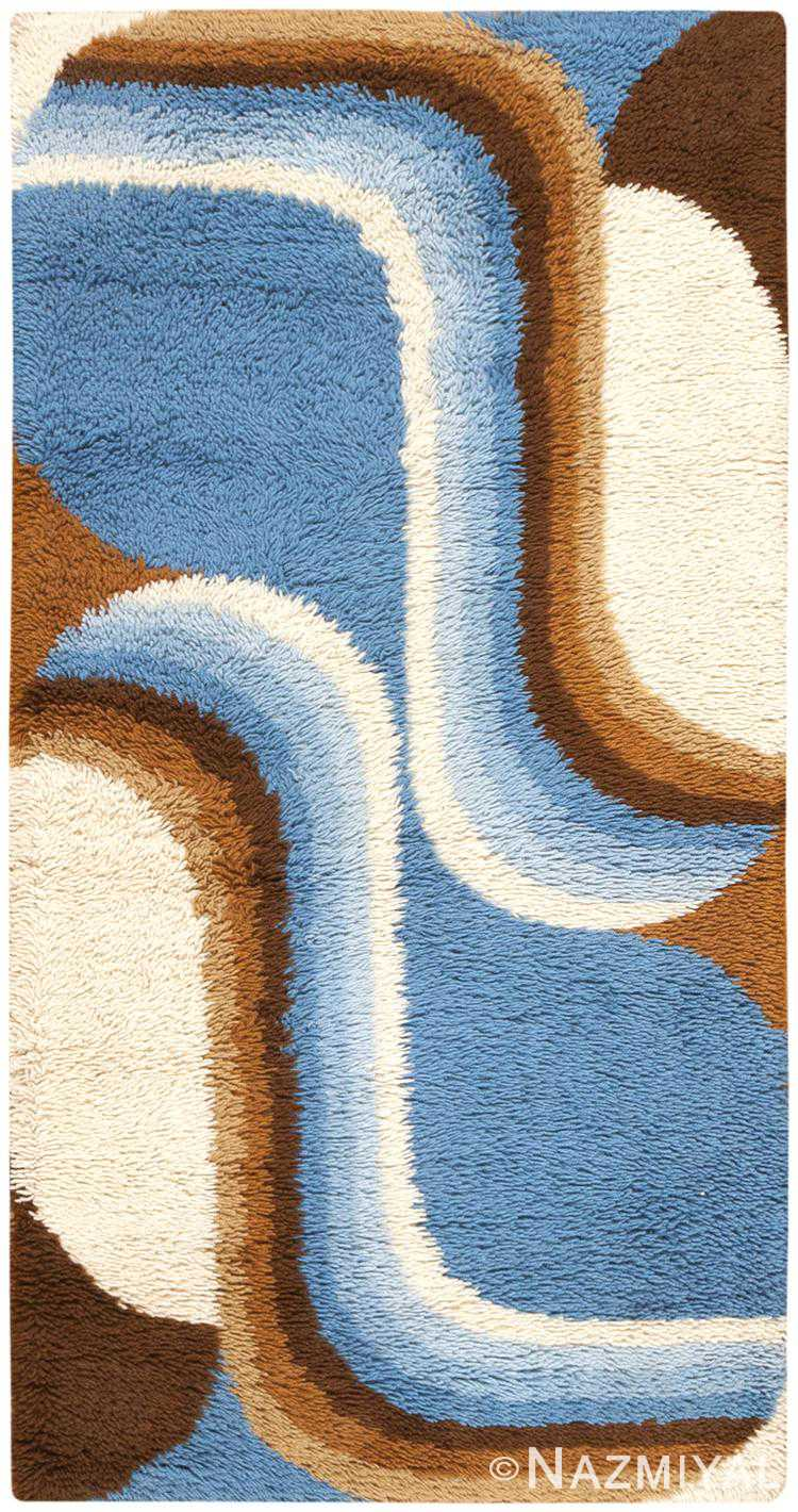 Vintage Swedish Deco Rug 46605 Detail/Large View