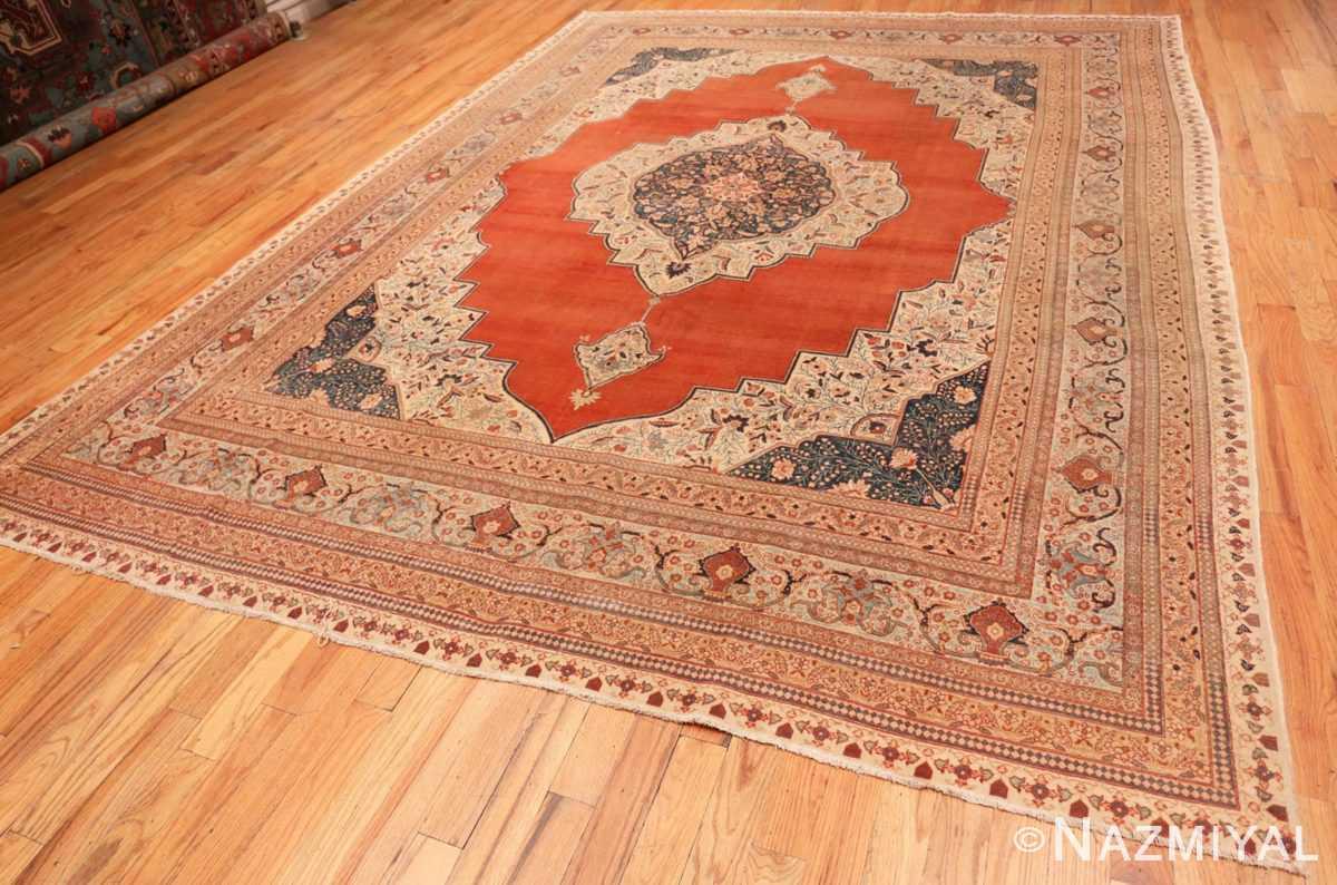Full Antique Persian Tabriz rug 45765 by Nazmiyal