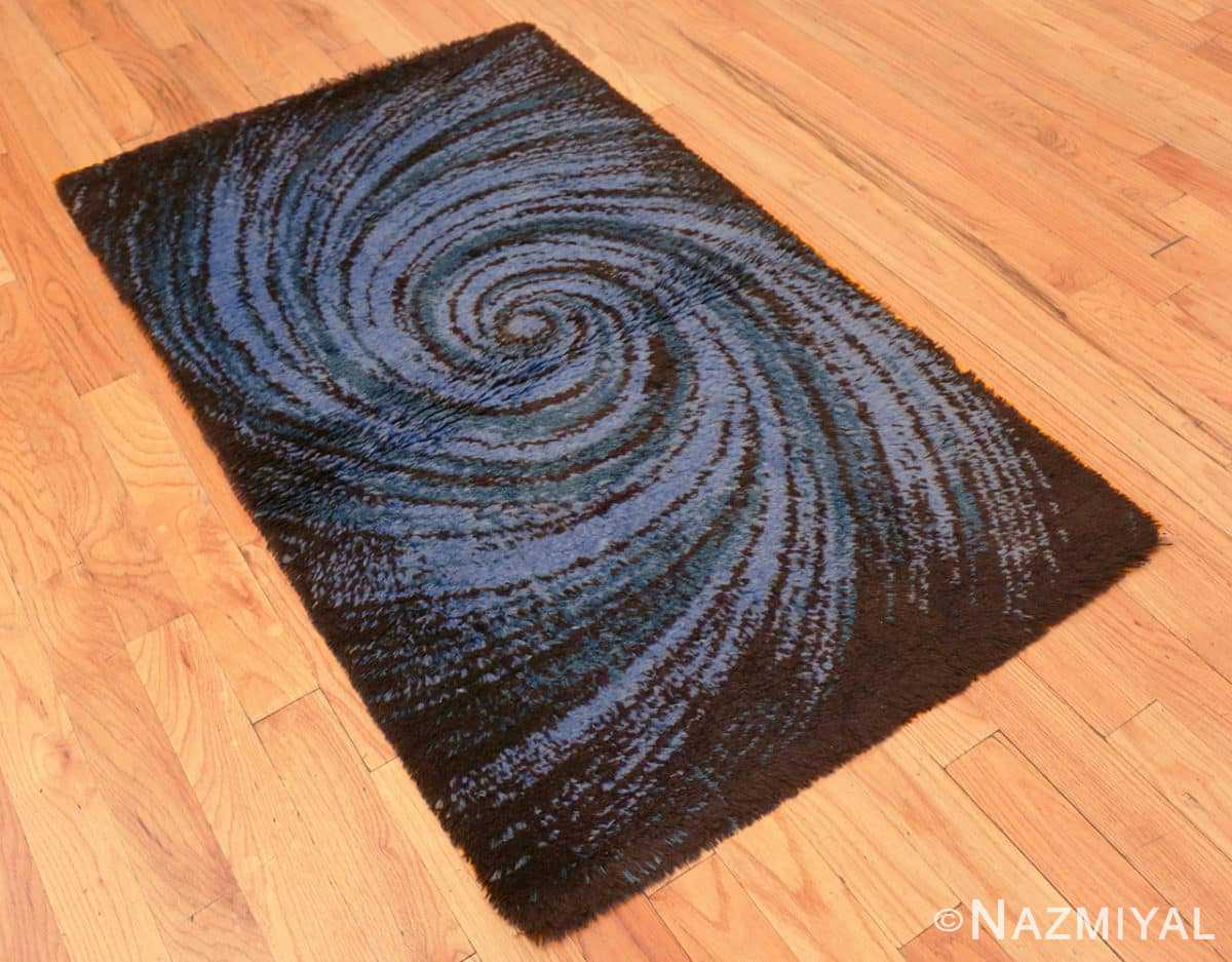 Full vintage Swedish deco rug 46616 by Nazmiyal