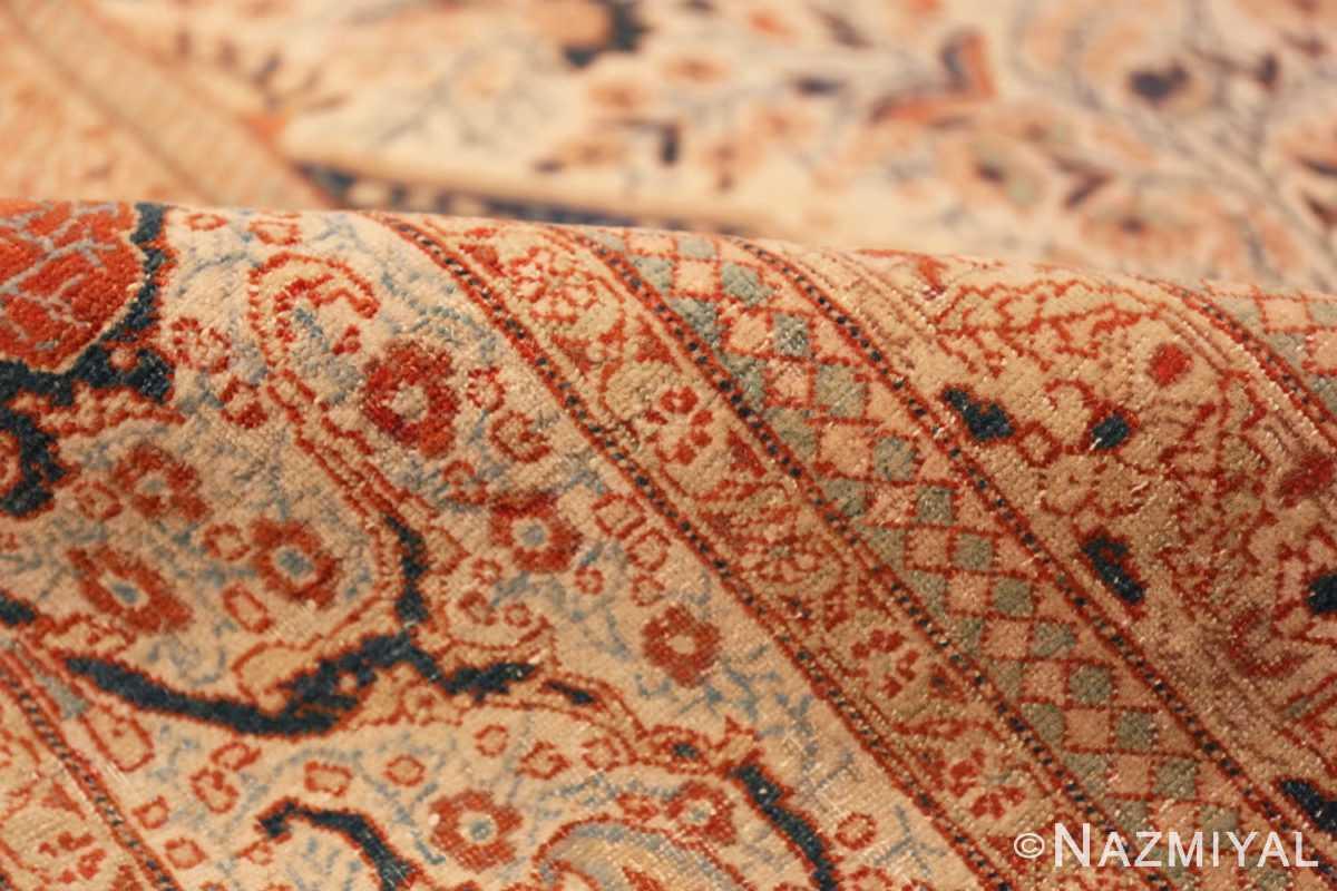 Pile Antique Persian Tabriz rug 45765 by Nazmiyal