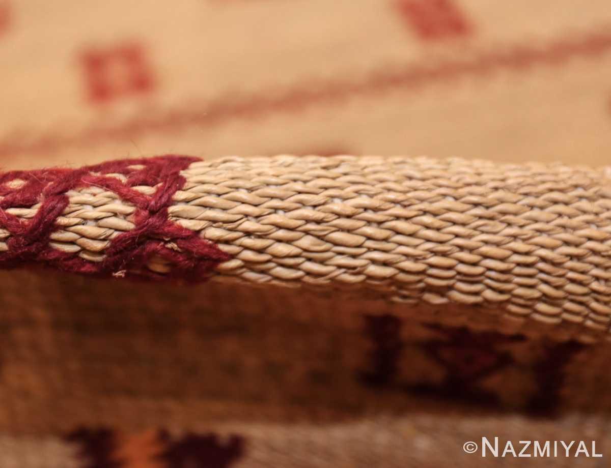 vintage moroccan rug 46626 pile Nazmiyal