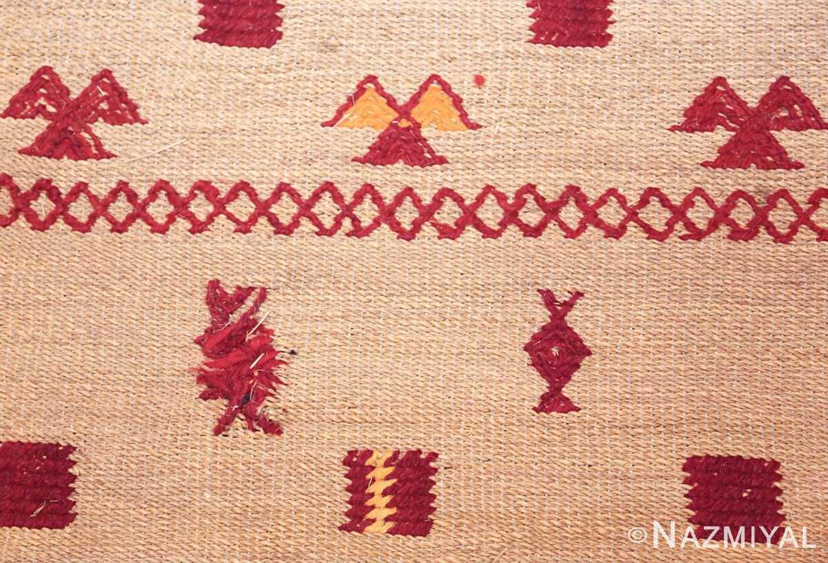 vintage moroccan rug 46626 yellow touch Nazmiyal