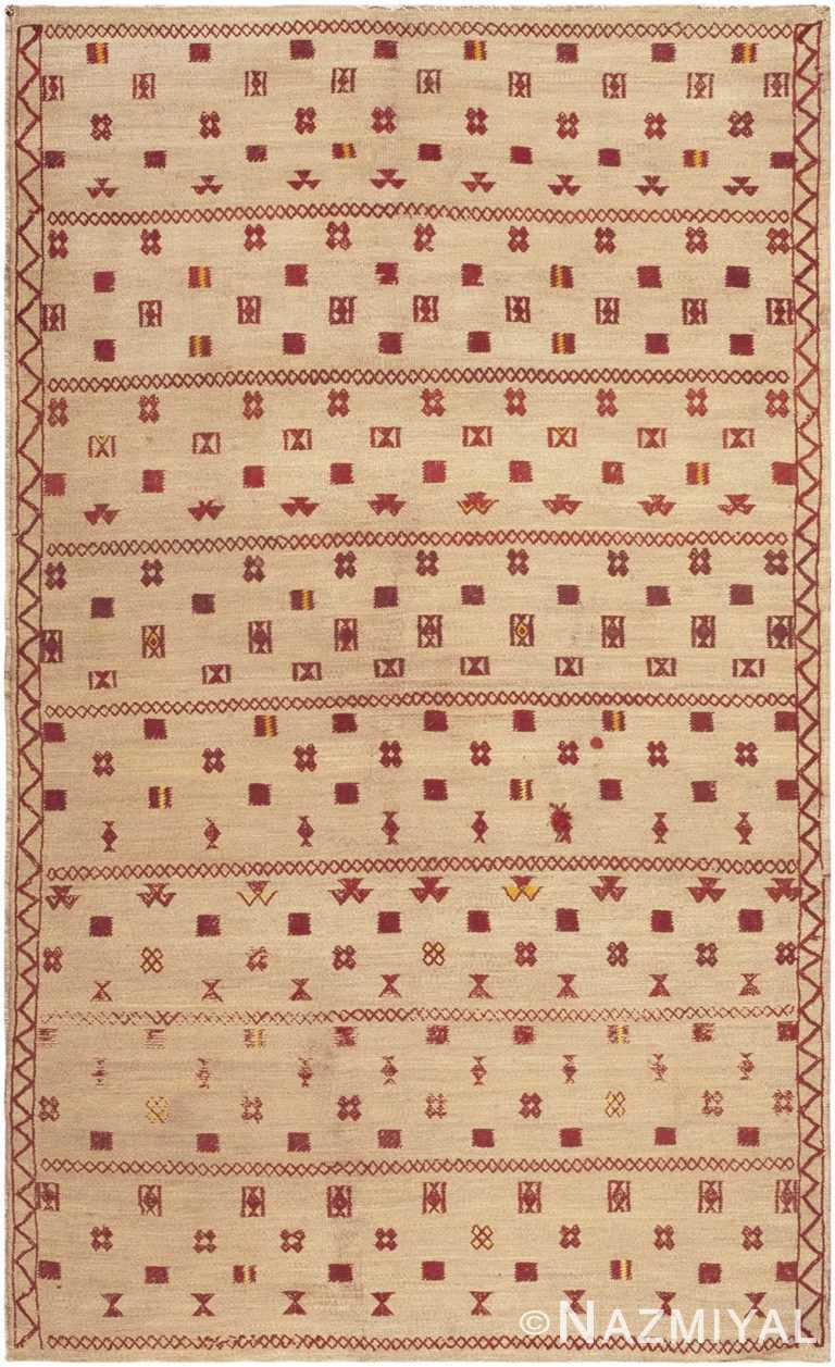 Vintage Moroccan Sisal Rug #46626 by Nazmiyal Antique Rugs
