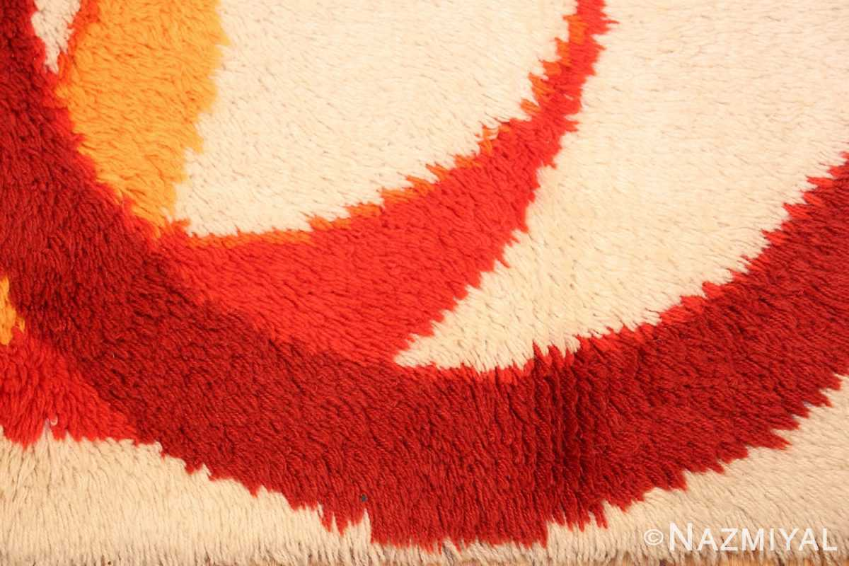 tage swedish deco rug 46609 border Nazmiyal