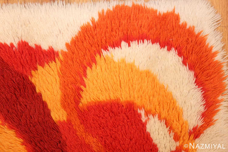 vintage swedish deco rug 46609 corner Nazmiyal