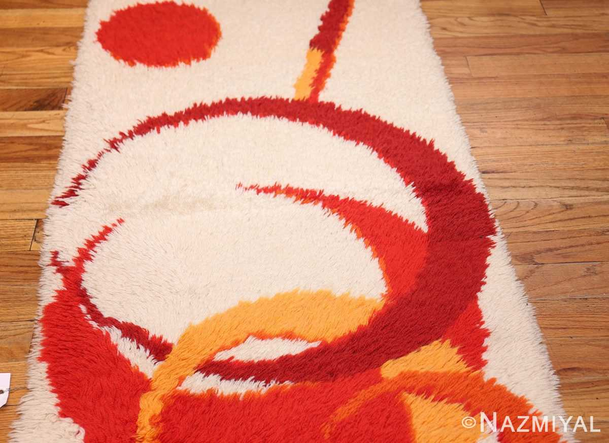 vintage swedish deco rug 46609 field Nazmiyal