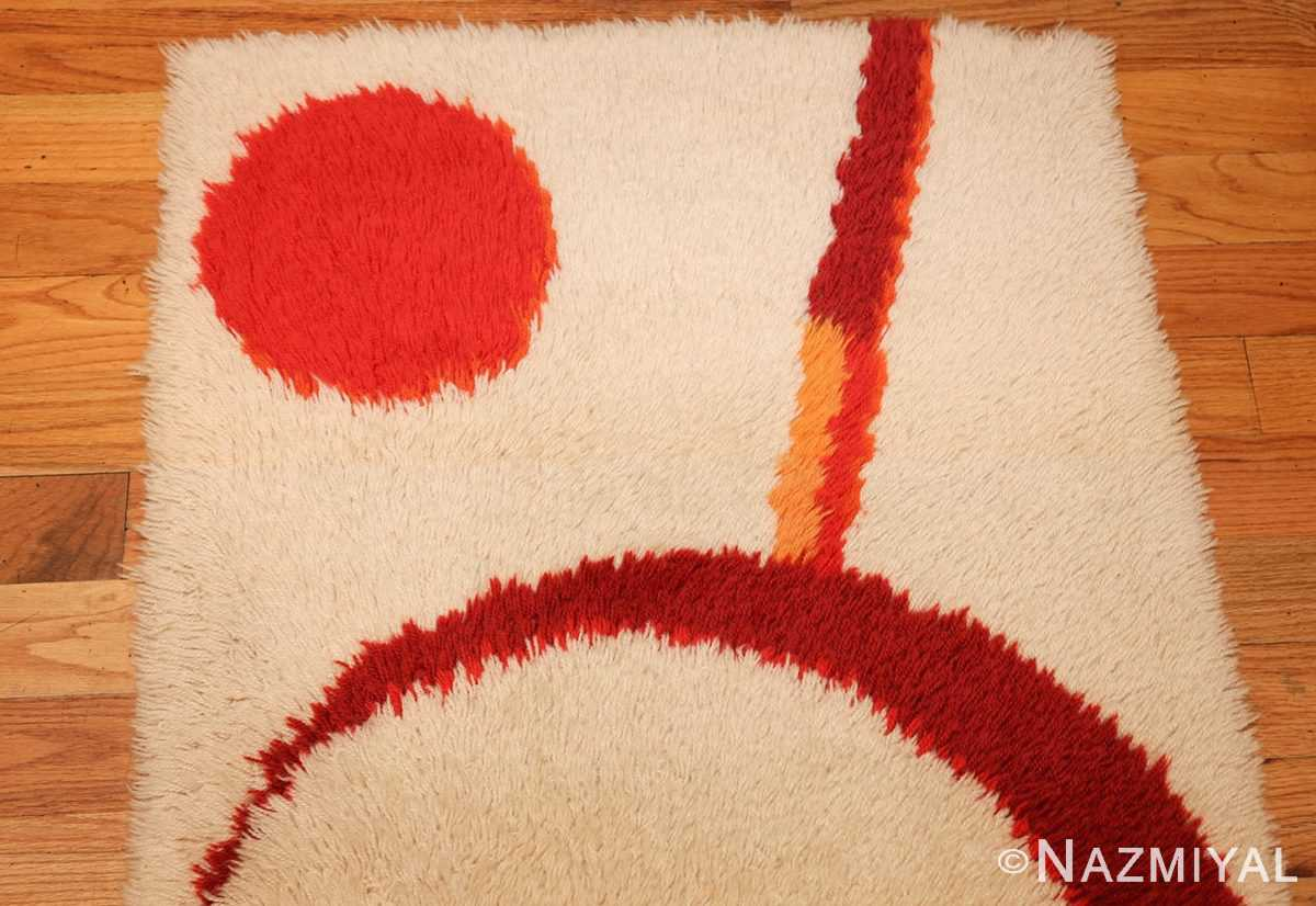 vintage swedish deco rug 46609 top Nazmiyal