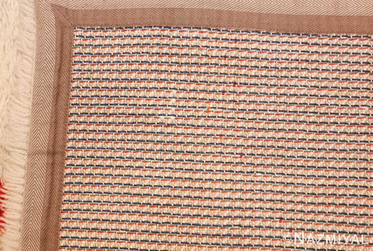 vintage swedish deco rug 46609 weave Nazmiyal