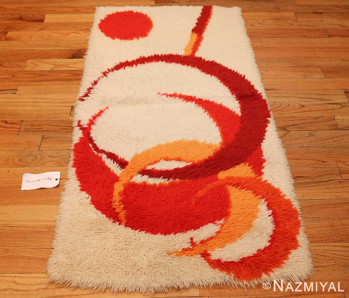 vintage swedish deco rug 46609 whole Nazmiyal