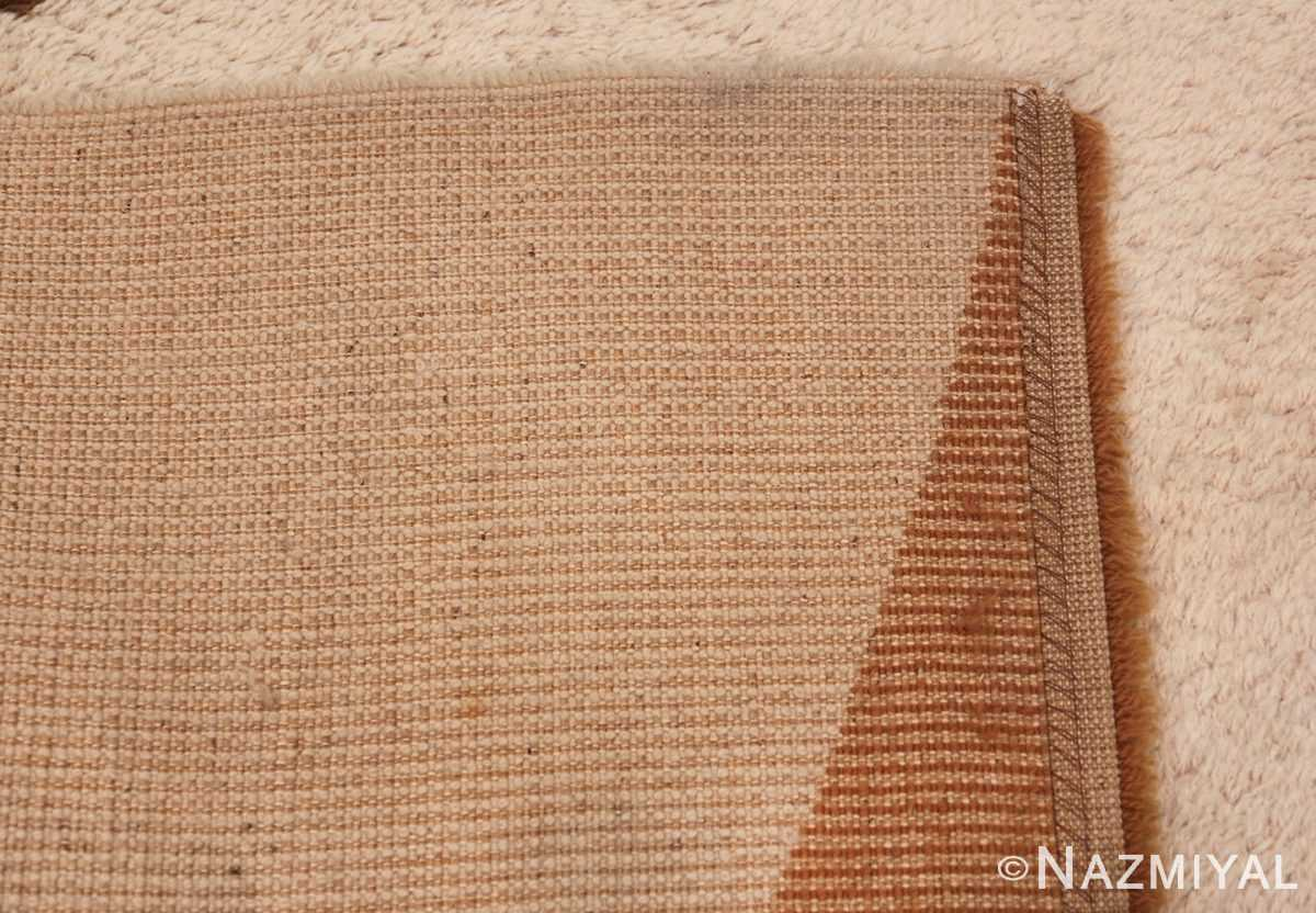 Vintage Swedish Rug 46601 Woven Knots Nazmiyal