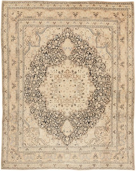 Antique Persian Khorassan Rug by Nazmiyal