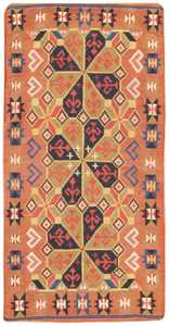Vintage Swedish Kilim 46676 Large Image