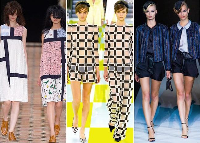 Twin Models Walking Down The NYC Fashion Week Runway by Nazmiyal