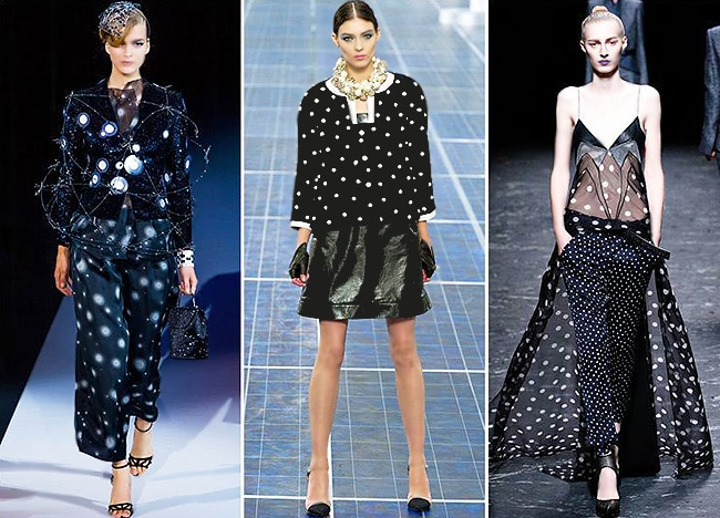 Glam Goth Fashion - Dots by Nazmiyal