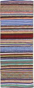 vintage swedish rag rug 46665 Nazmiyal