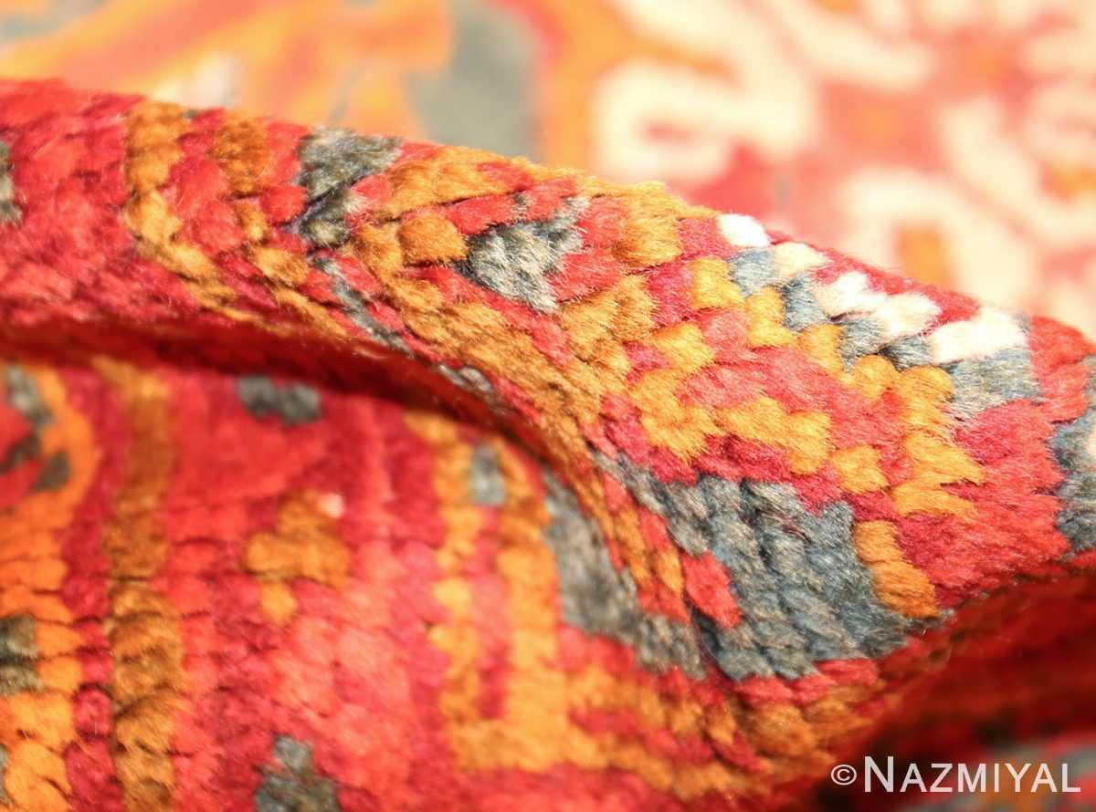 antique turkish oushak rug 46697 pile Nazmiyal