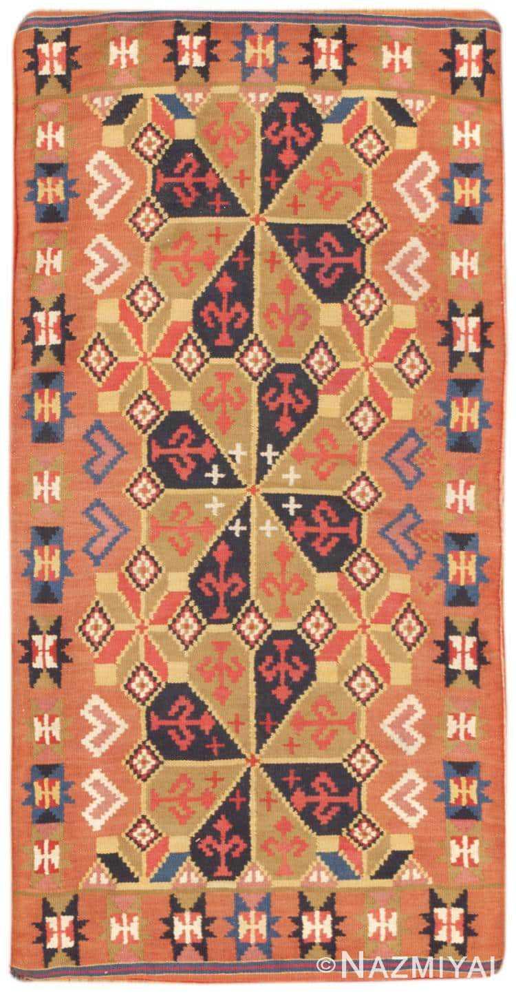 Vintage Swedish Kilim 46676 Large Image