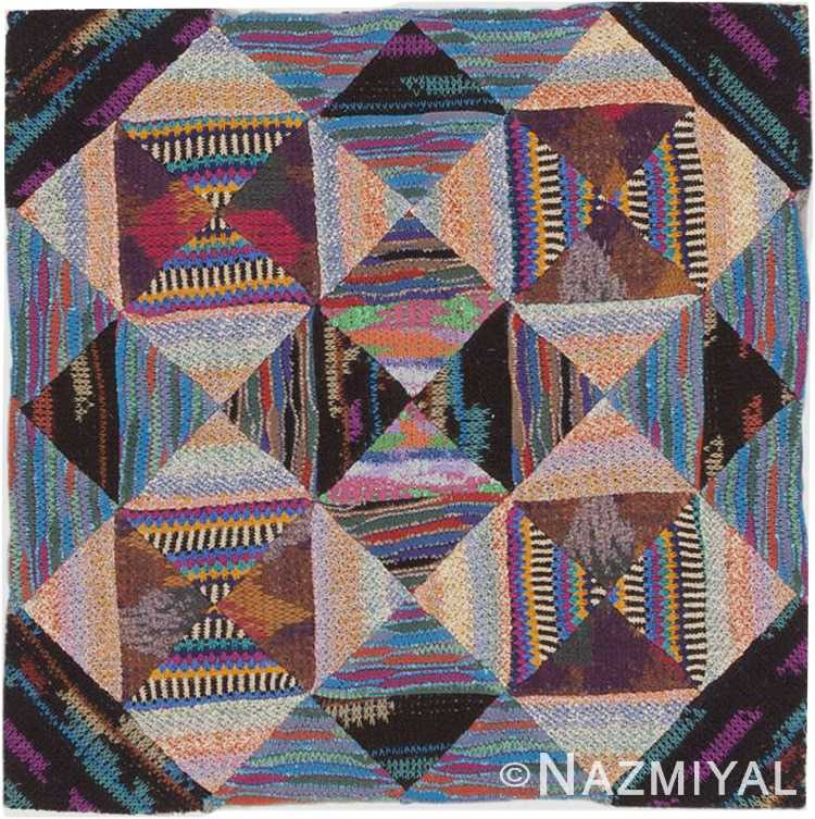 Vintage Missoni Textile Art #46674 by Nazmiyal Antique Rugs
