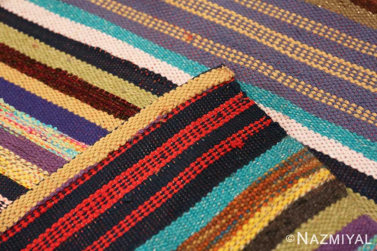 Weave Vintage Swedish rag rug 46662 by Nazmiyal