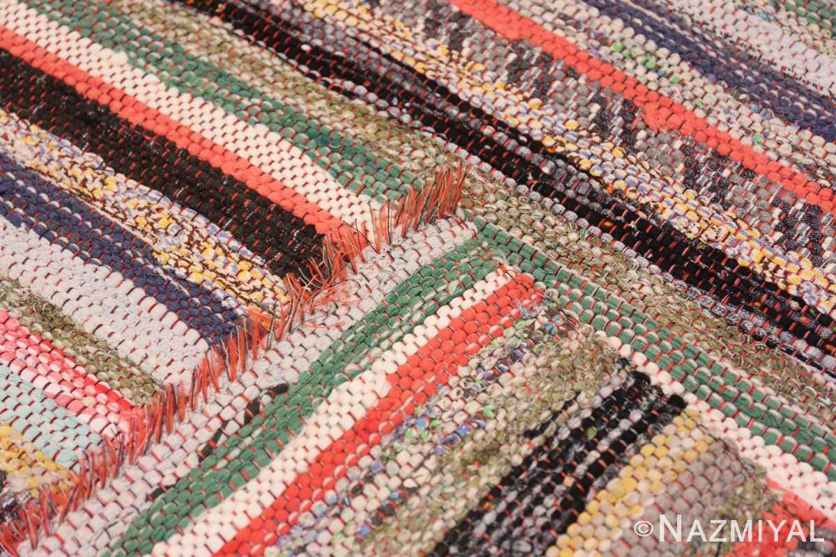 Weave Vintage Swedish rag rug 46670 by Nazmiyal