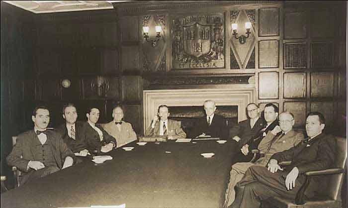A Meeting of the Hajji Baba Club Circa 1940