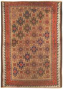 Antique Persian Balouch Rug 46449 Large Image