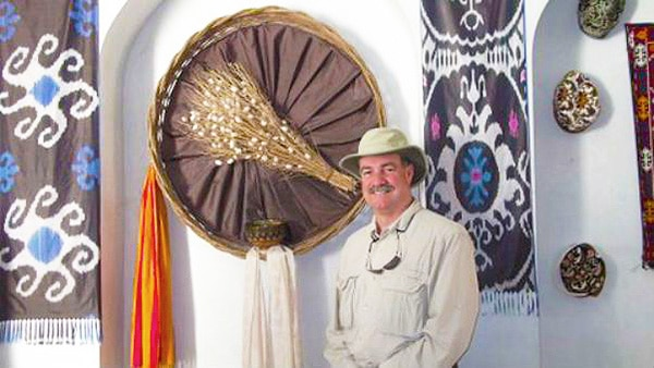 Roger Pratt on Textile Museum Trip to Uzbekistan - Namziyal