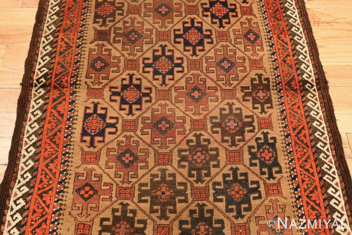 antique persian baluch rug 46449 field Nazmiyal