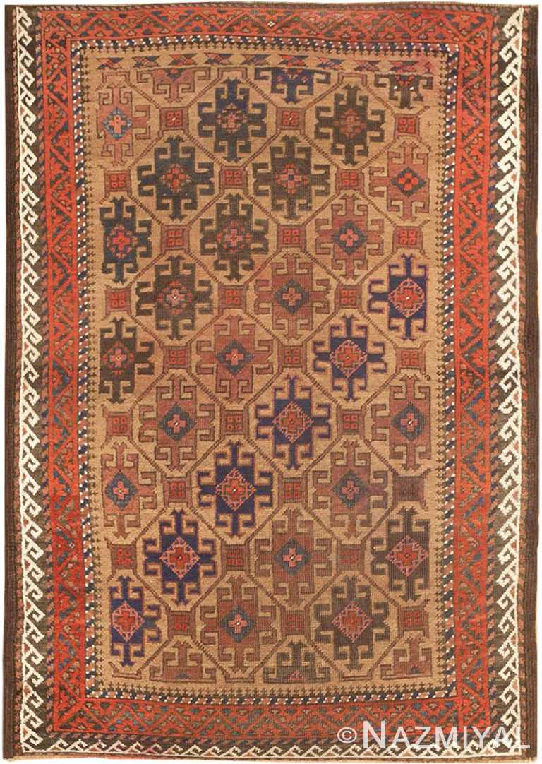 Antique Persian Baluch Rug #46449 by Nazmiyal Antique Rugs