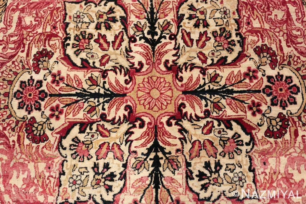 antique persian kerman rug 46655 center Nazmiyal
