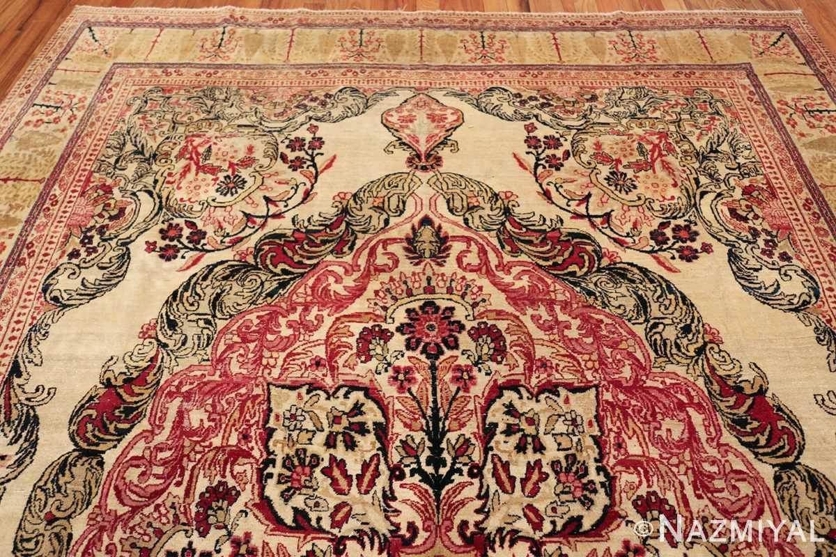 antique persian kerman rug 46655 top Nazmiyal
