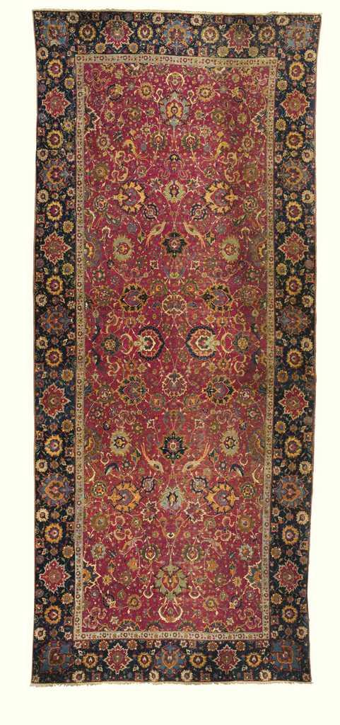 Sixteenth Century Safavid Isfahan Carpet