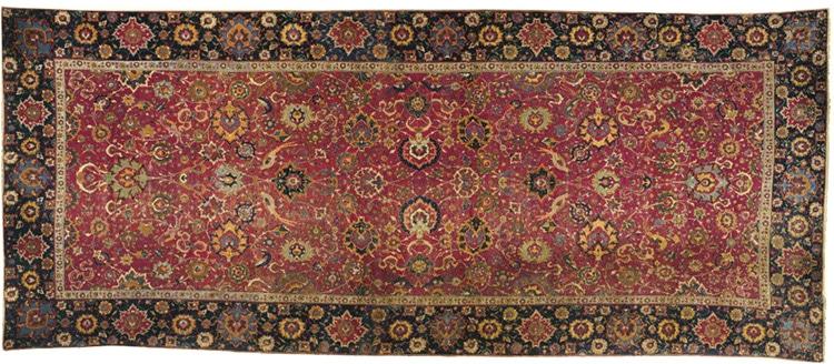 Antique Persian Two Million Dollar Rug - Nazmiyal