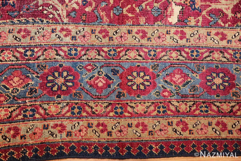 antique kerman persian rug 46637 border Nazmiyal